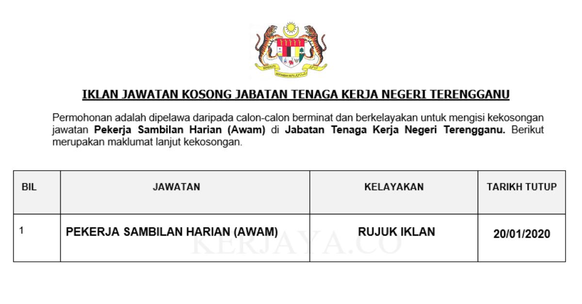 Jabatan Tenaga Kerja Negeri Terengganu