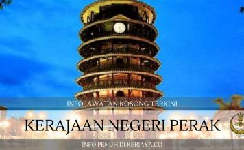 Suruhanjaya Perkhidmatan Awam Negeri Perak ~ Pembantu Operasi, Pembantu Syariah & Pelbagai Jawatan
