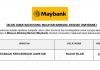Malayan Banking Berhad (Maybank) ~ Pelbagai Kekosongan Jawatan 2020