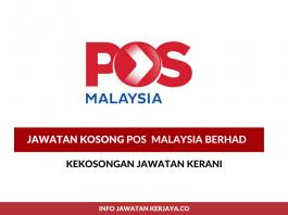 Kerani Pos Malaysia Berhad