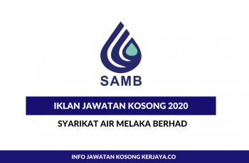 Syarikat Air Melaka Berhad ~ Ketua Pegawai Eksekutif