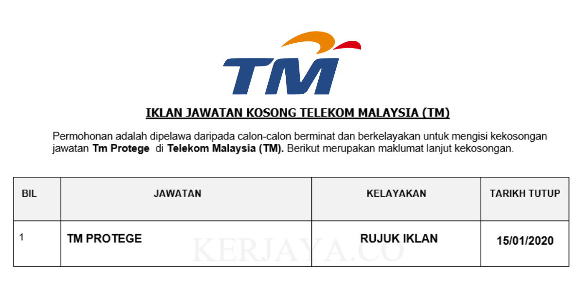 Telekom Malaysia (TM) ~ TM Protege
