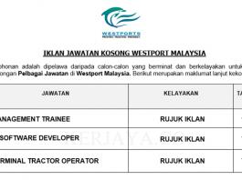 Westport Malaysia ~ Management Trainee, IT Software Developer & Terminal Tractor Operator