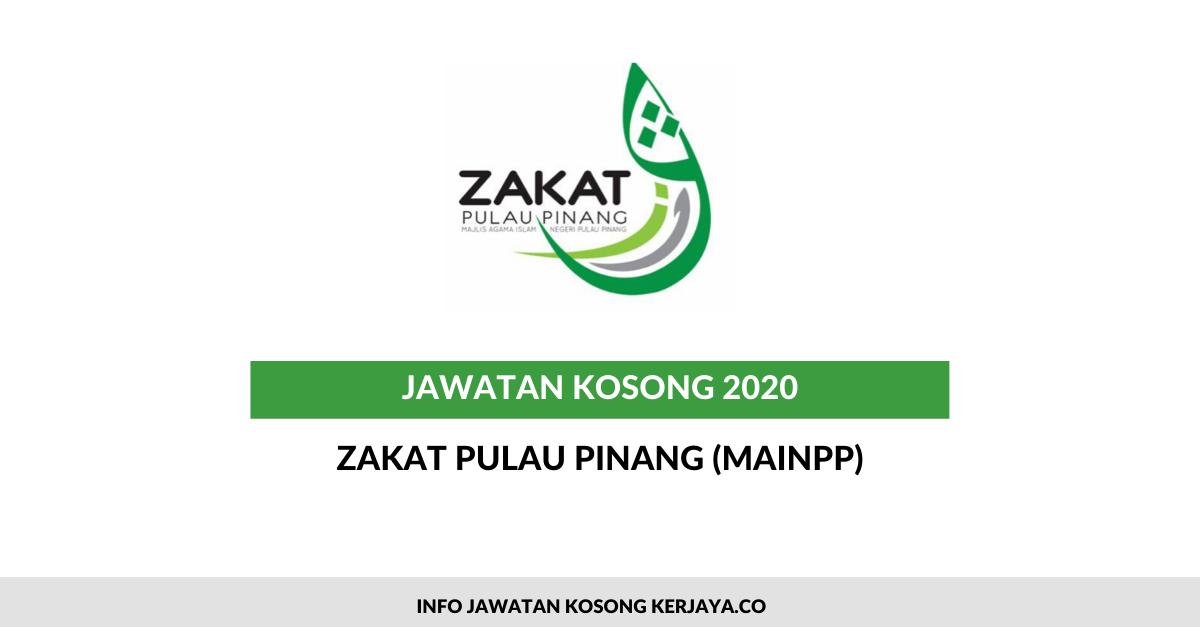 Zakat Pulau Pinang (MAINPP) ~ Kerani, Eksekutif & Penolong Eksekutif