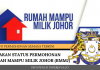 semakan status Permohonan Rumah Mampu Milik Johor (RMMJ)