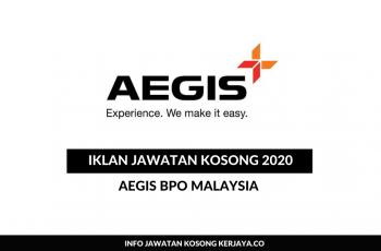 Aegis BPO Malaysia ~ Internship for Finance Students