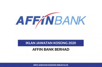 Affin Bank Berhad ~ Pelbagai Kekosongan Jawatan