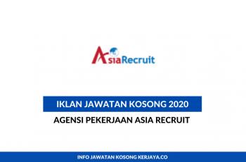 Agensi Pekerjaan Asia Recruit ~ Eksekutif Logistik
