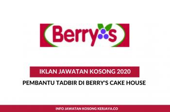 Berry's Cake House ~ Pembantu Tadbir