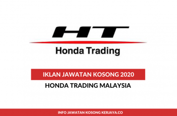 Honda Trading Malaysia ~ Sales Operation Executive