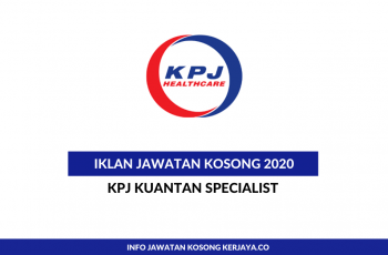 KPJ Pahang ~ Marketing Executive