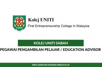 Kolej Uniti Sabah ~ Pegawai Pengambilan Pelajar
