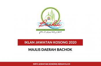 Majlis Daerah Bachok ~ Pembantu Tadbir, Pembantu Awam, Penolong Pegawai Kesihatan Persekitaran & Pelbagai Jawatan
