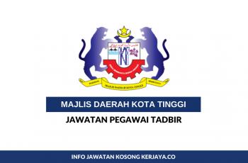 Majlis Daerah Kota Tinggi ~ Pegawai Tadbir