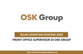 OSK Group ~ Front Office Supervisor