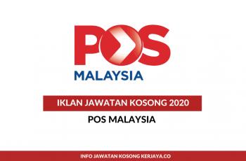 Temuduga Terbuka Pos Malaysia ~ Posmen, Kurier, Pemandu Van & Lori