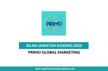 Primo Global Marketing ~ Graduate Trainee