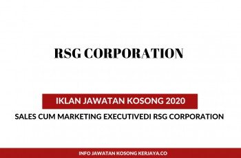 RSG Corporation ~Sales cum Marketing Executive