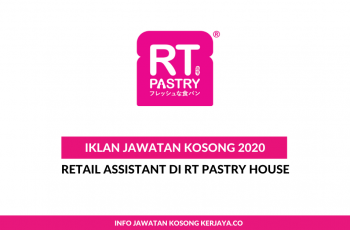 RT Pastry House ~ Retail Assistant