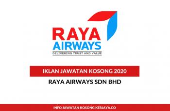 Raya Airways ~ Finance Assistant