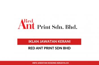 Red Ant Print ~ Kerani