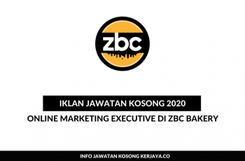 ZBC Bakery ~ Online Marketing Executive