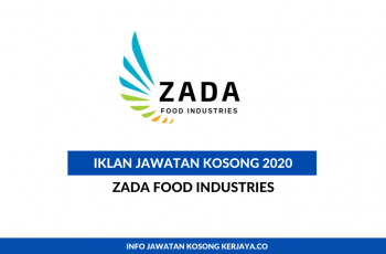 Zada Food Industries ~ Sales Admin