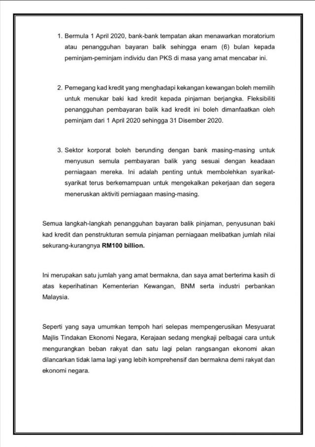 Baki Kad Kredit Kini Boleh Di Tukar Kepada Pinjaman Berjangka Diumumkan ~ PM