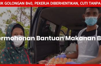 Daftar Permohonan Bantuan Bekalan Makanan B40 Di Buka