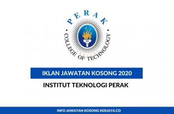 Institut Teknologi Perak ~ Assistant Manager