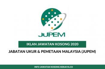 Jabatan Ukur & Pemetaan Malaysia (JUPEM)