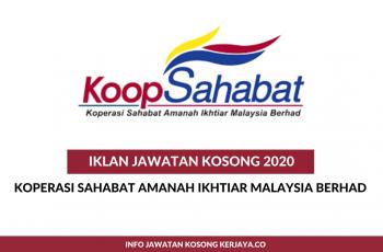 Koperasi Sahabat Amanah Ikhtiar Malaysia Berhad ~ Eksekutif Teknologi Maklumat