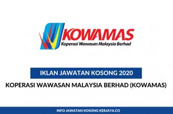 Koperasi Wawasan Malaysia Berhad (KOWAMAS) ~Setiausaha Pejabat
