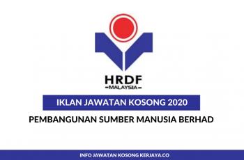 Pembangunan Sumber Manusia Berhad ~ Eksekutif & Pelbagai Jawatan