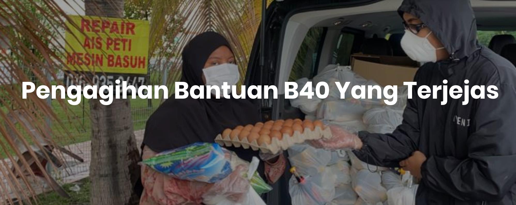 Permohonan Bantuan Bekalan Makanan B40 Di Buka