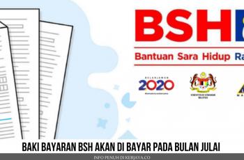 Rasmi Baki Bayaran BSH Akan di Bayar Pada Bulan Julai ~ Bantuan Prihatin Nasional