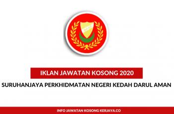 Suruhanjaya Perkhidmatan Negeri Kedah Darul Aman ~ Pembantu Tadbir, Pegawai Tadbir & Penolong Pegawai Tanah