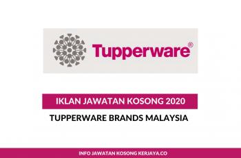 Tupperware Brands Malaysia ~ Pelbagai Kekosongan Jawatan