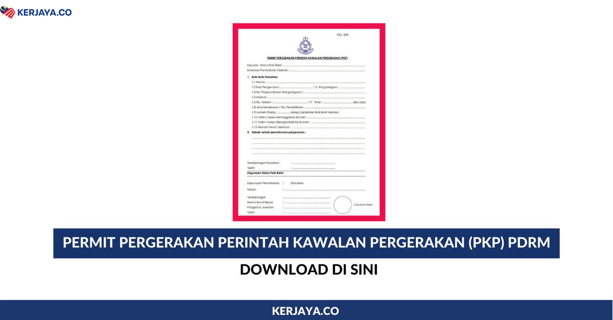 Download Permit Pergerakan Perintah Kawalan Pergerakan Bersyarat Pkpb