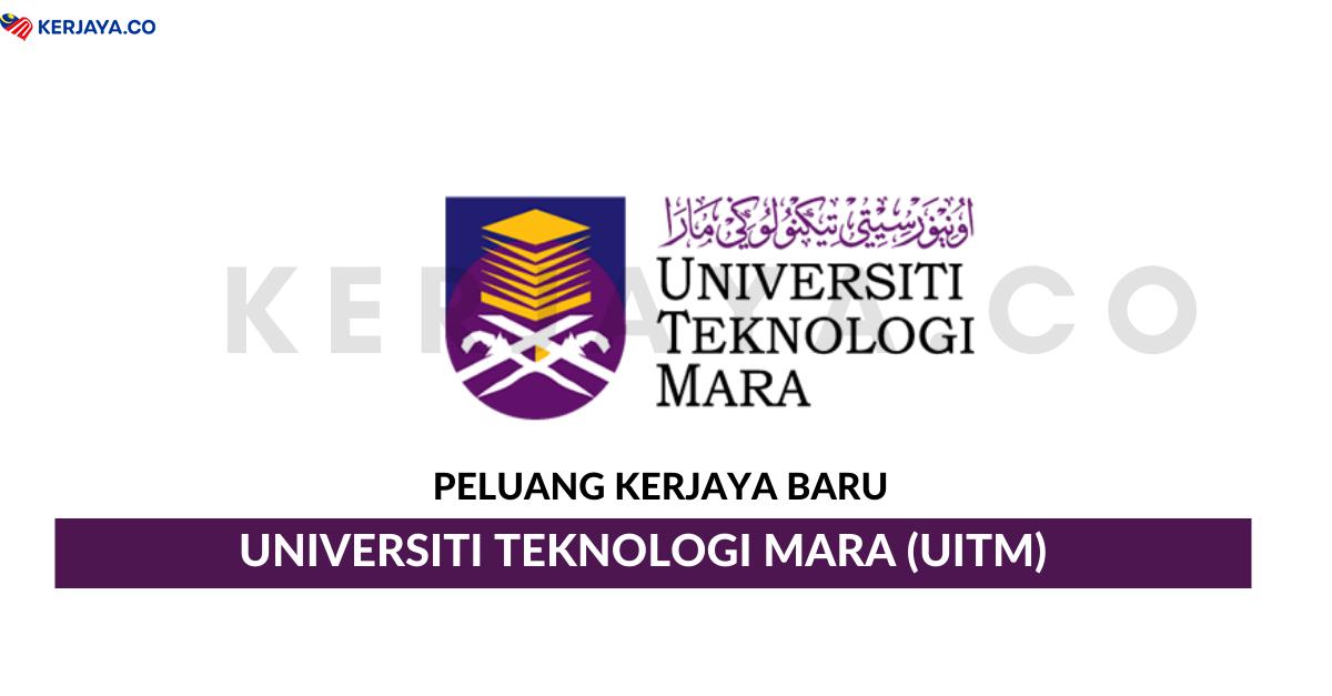 Jawatan Kosong Terkini Universiti Teknologi Mara Uitm Sarawak Kerja Kosong Kerajaan Swasta