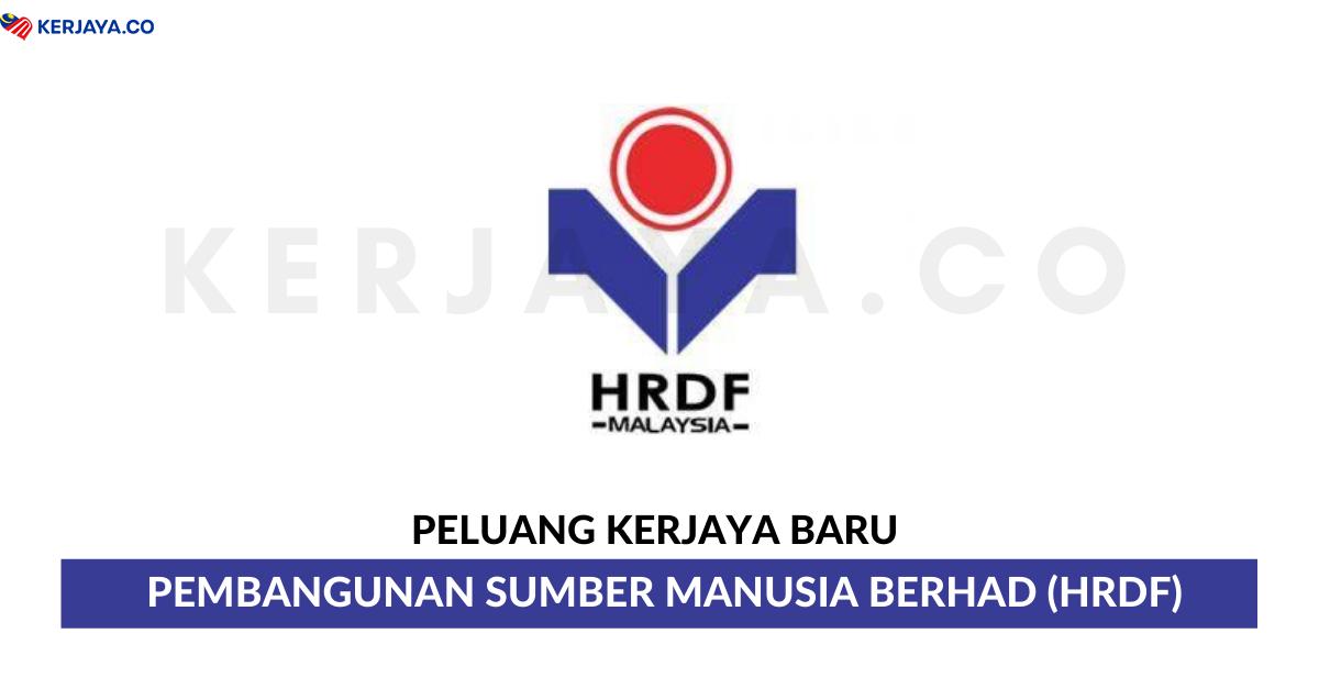 Temuduga Terbuka Pembangunan Sumber Manusia Berhad Hrdf