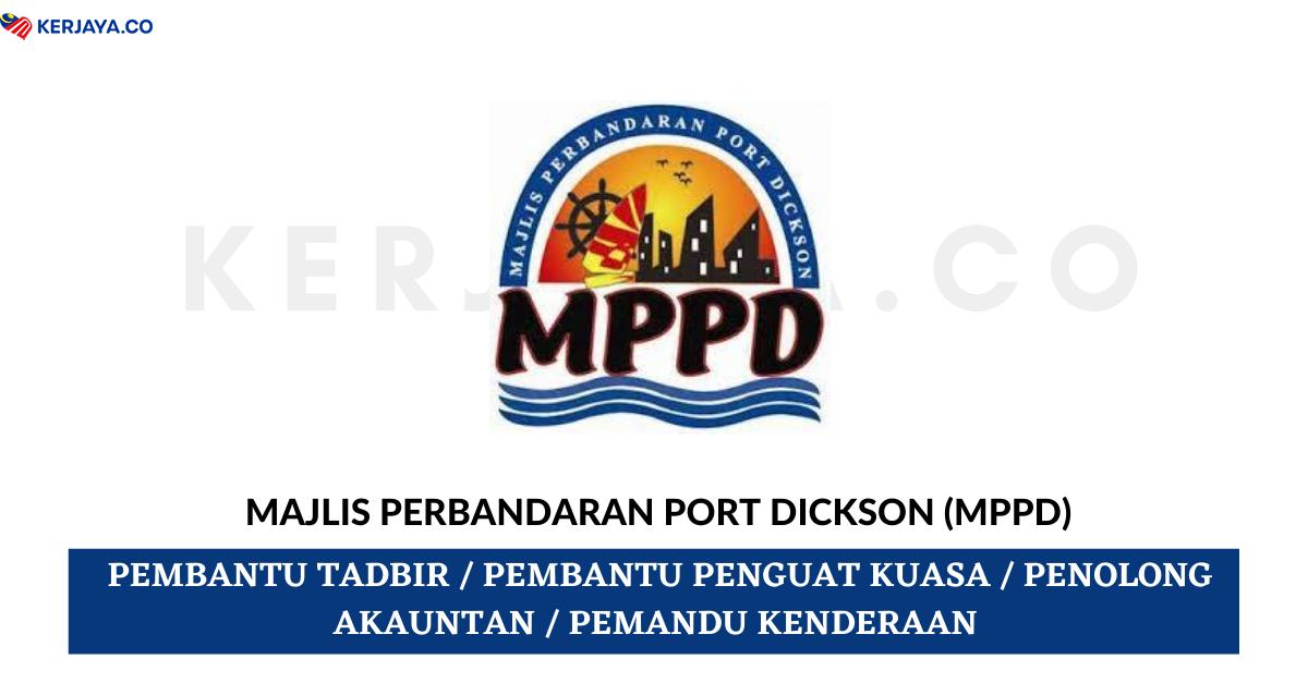 Jawatan Kosong Terkini Majlis Perbandaran Port Dickson Mppd Kekosongan Jawatan Pentadbiran Pengurusan Kerja Kosong Kerajaan Swasta