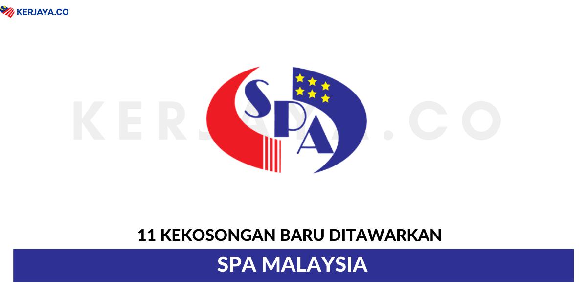 11 Kekosongan Jawatan Baru Suruhanjaya Perkhidmatan Awam Malaysia Spa Malaysia Minima Spm Layak Mohon