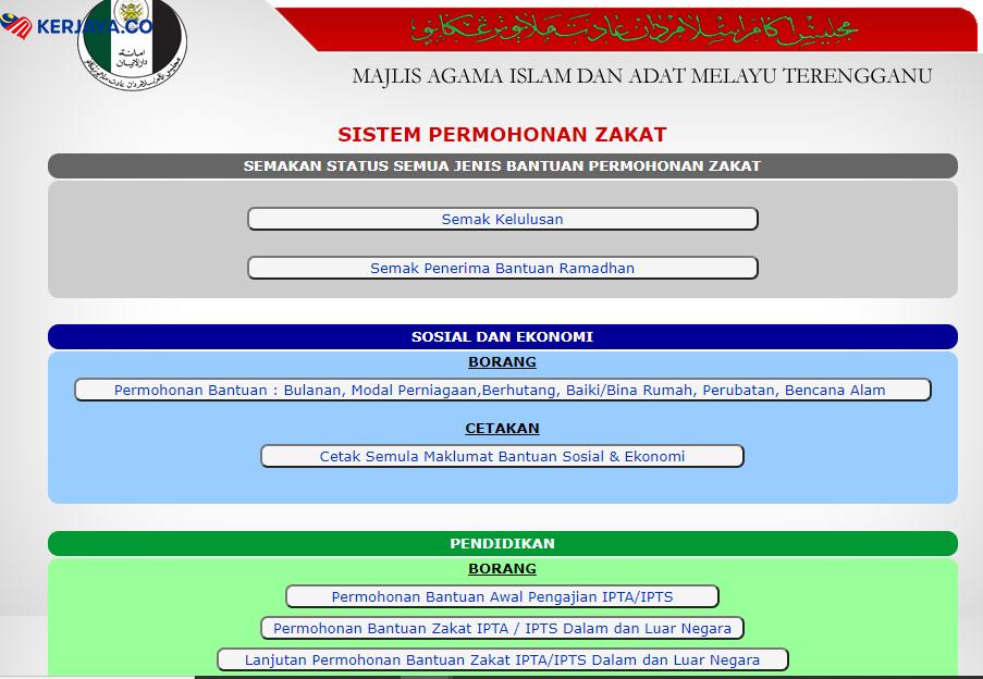 Laman Web Rasmi Majlis Agama Islam Dan Adat Melayu Terengganu Maidam Zakat Fitrah 1441h 2020m