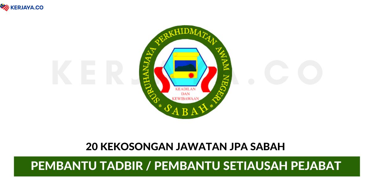 Jawatan Kosong Terkini Jabatan Perkhidmatan Awam Negeri Sabah Kerja Kosong Kerajaan Swasta