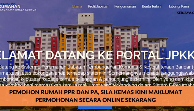 Cara Memohon Rumah Ppr Johor
